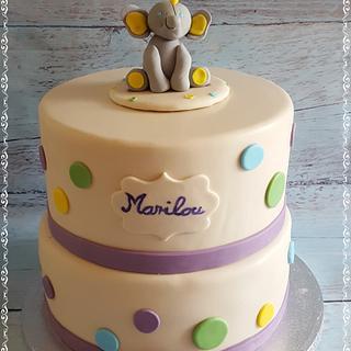 Babys 1 Birthday Cake - Cake by Effi's Cakes & Bakes