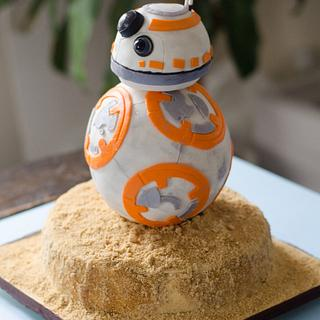 BB8 - Cake by Dkn1973