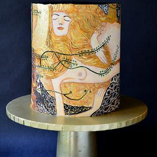 Water Serpents -1, Gustav Klimt