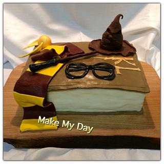 Harry Potter inspired cake - Cake by Make My Day