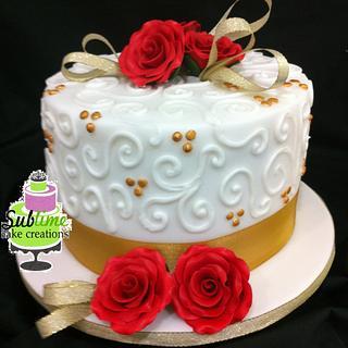 """Mini Spice"" Wedding cake"