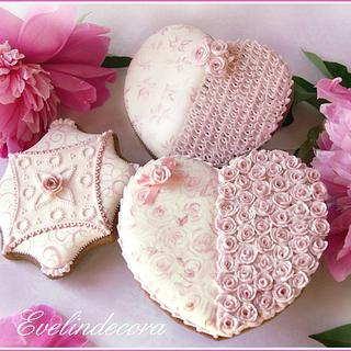 Romantic cookies 💗