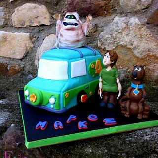 scooby doooo 3d - Cake by eve and butter