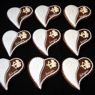 Birthday gingerbreads