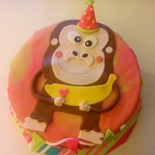 Little Monkey Cake - Cake by Jesika Altuve