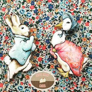 Peter Rabbit and Jemima Puddleduck Cookies