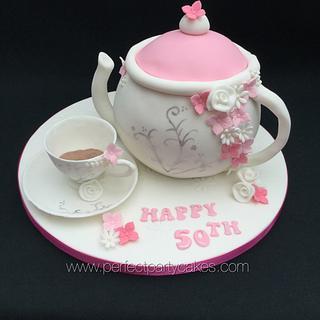 Teapot & Saucer cake