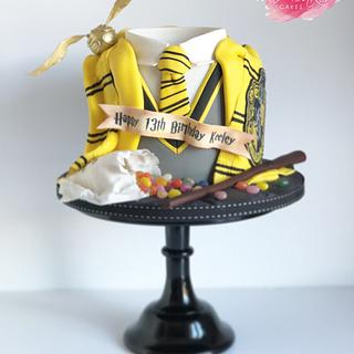 #TeamHufflepuff - Cake by Mr Baker's Cakes