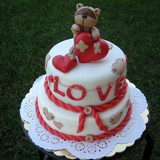 Torta San Valentino -Valentine's day cake