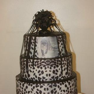 Leopard Print Cake - Cake by TriciaH