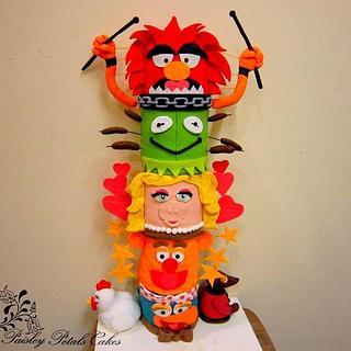 Threadcakes Muppets Totempole