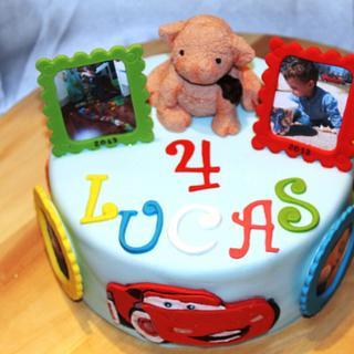 tarta de cumpleaños infantil, Birthday cake for baby