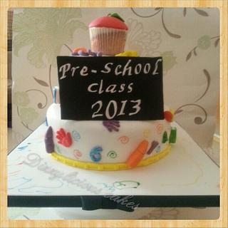 pre school cake