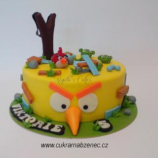 Angry Birds cake - Cake by Renata