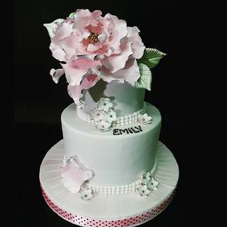 Pastel de Comunion - Cake by Nurisscupcakes