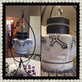 Hanging cake!