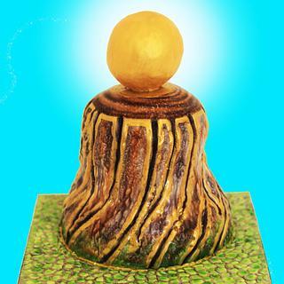Light of hope cake