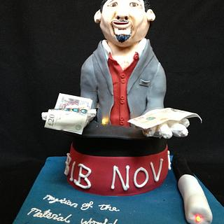 Magician of the Material World - Cake by Daisy Brydon Creations