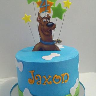 Scooby Doo Cake and Cupcakes