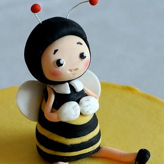 baby bumble bee - Cake by Magda's cakes