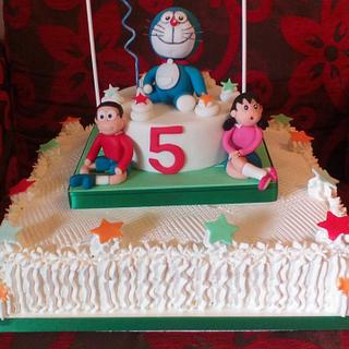 DORAEMON - Cake by FRANCESCA