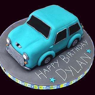 Classic Mini Car Cake