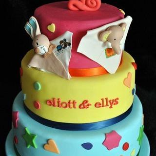 funky birthday cakes