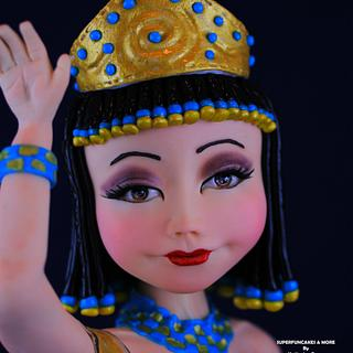 Cleopatra doll style - Egypt Land of Mystery Collaboration