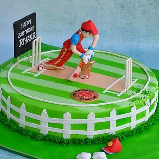 Cricket Cake !!