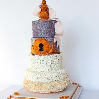 Bas Relief meets Rocco  - Cake by Diana