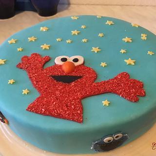 Elmo - Cake by KaetvanKirsch