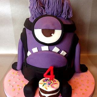 Purple minion / Evil minion