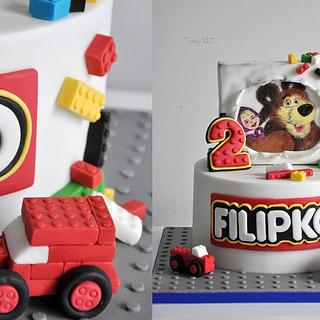 Lego and masha