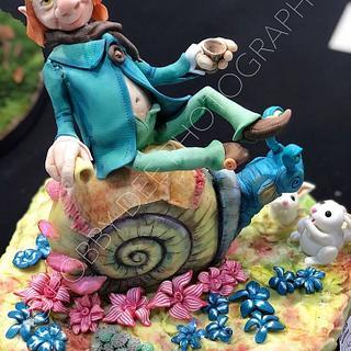 Goblin and snail