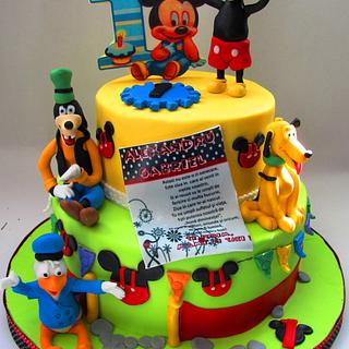 Disney cake... - Cake by COMANDATORT