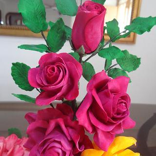Rambling Rose & Tea Rose
