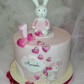 1st birthday cake - Cake by manuela scala
