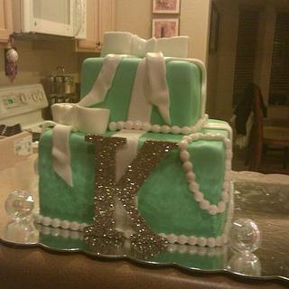 Tiffany Style Cake