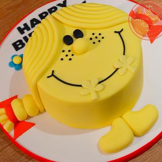 Little Miss Sunshine - Cake by Strawberry Lane Cake Company
