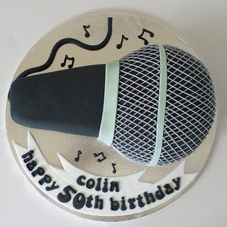 microphone cake ♡ - Cake by Bert's Bakes
