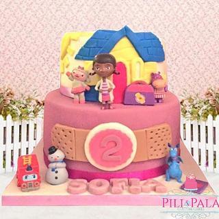 Doc McStuffins cake - Cake by Hannah Thomas
