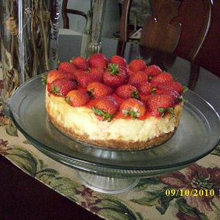 Mini Strawberry Cheesecake - Cake by CheesecakeLady