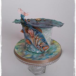 Birthday fish :)  - Cake by Zuzana Kmecova