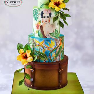 Frida Kahlo Wedding Cake