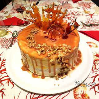 Mou drip cake