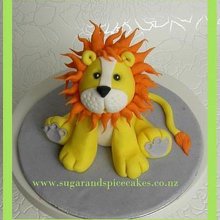 Leopold Lion Cake Topper ~