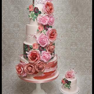 Miss Piggy Wafer Roses