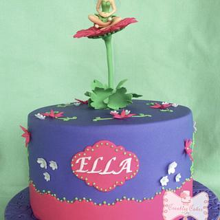 Tinkerbel themed cake - Cake by Gen