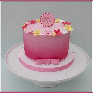 Very Pink Birthday Cake - Cake by Gill W