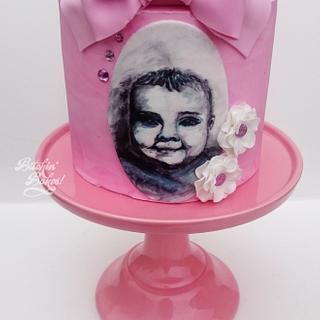 My daughter Cara's christening cake